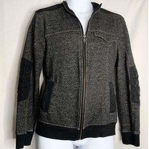 Marc Anthony full zip sweatshirt jacket M black